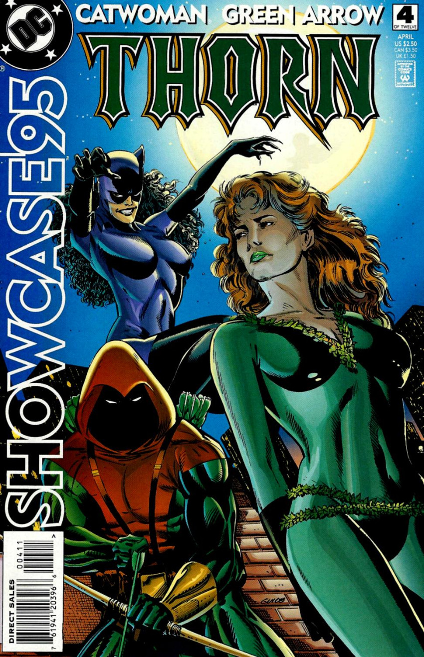 Couverture de Showcase '95 (DC comics - 1995) -4- Issue # 4