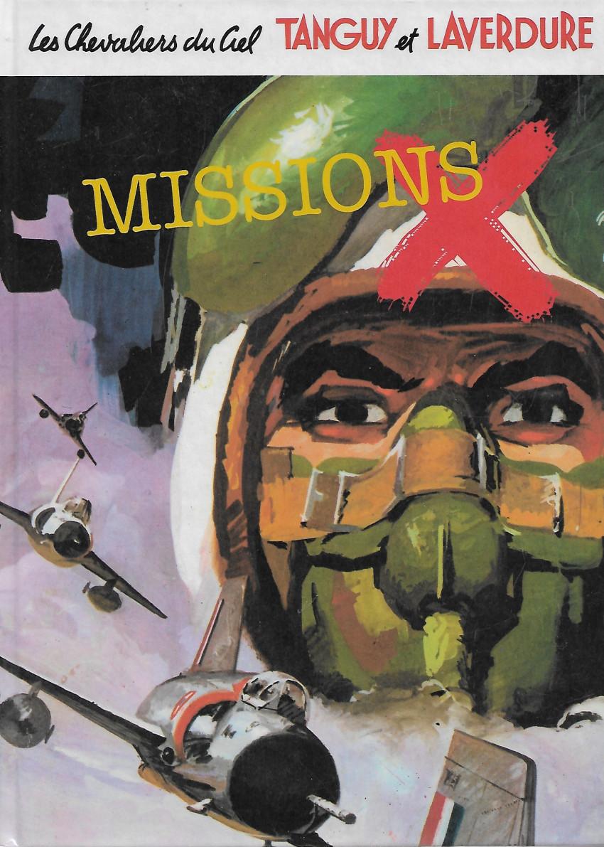 Couverture de Tanguy et Laverdure -Pir- Missions X