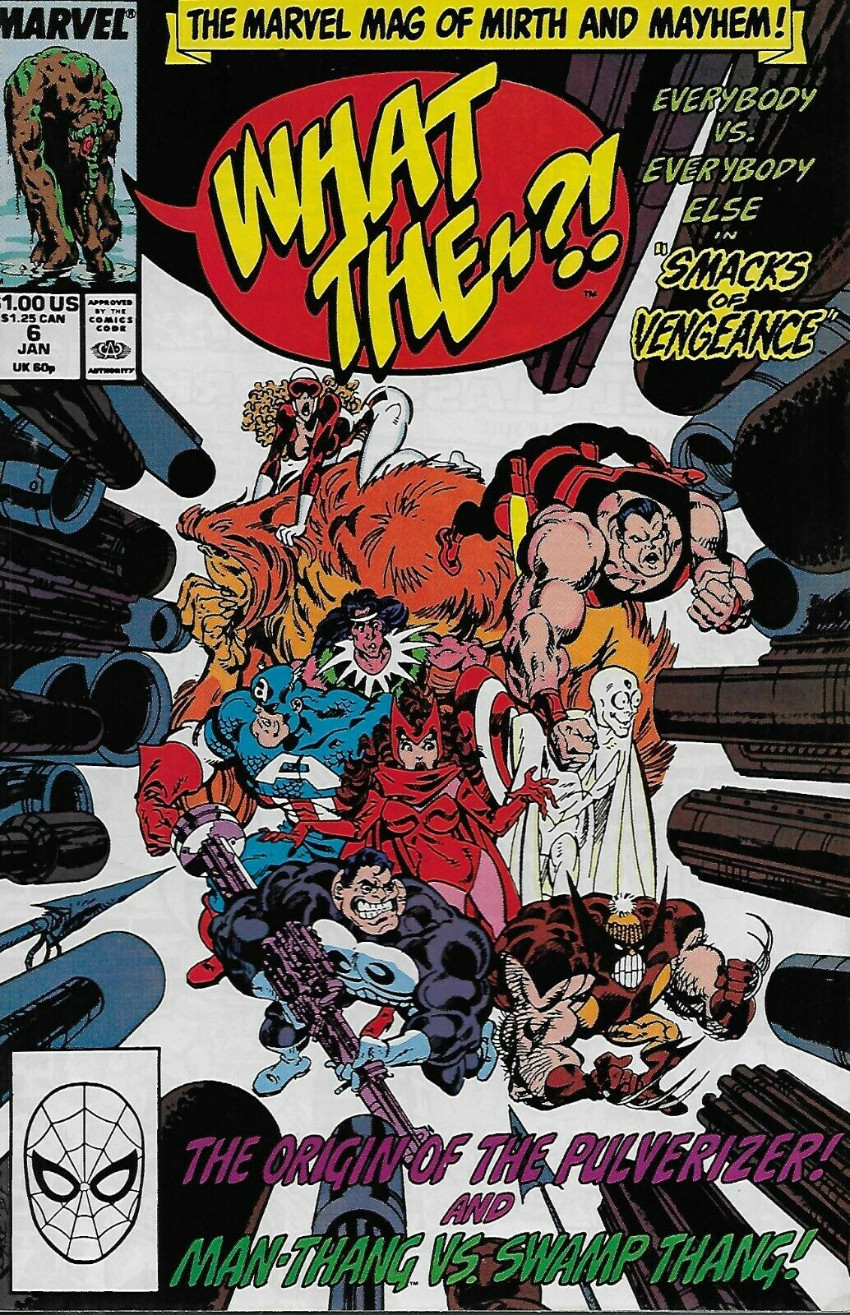 Couverture de What the..?! (Marvel comics - 1988) -6- Smacks of vengeance
