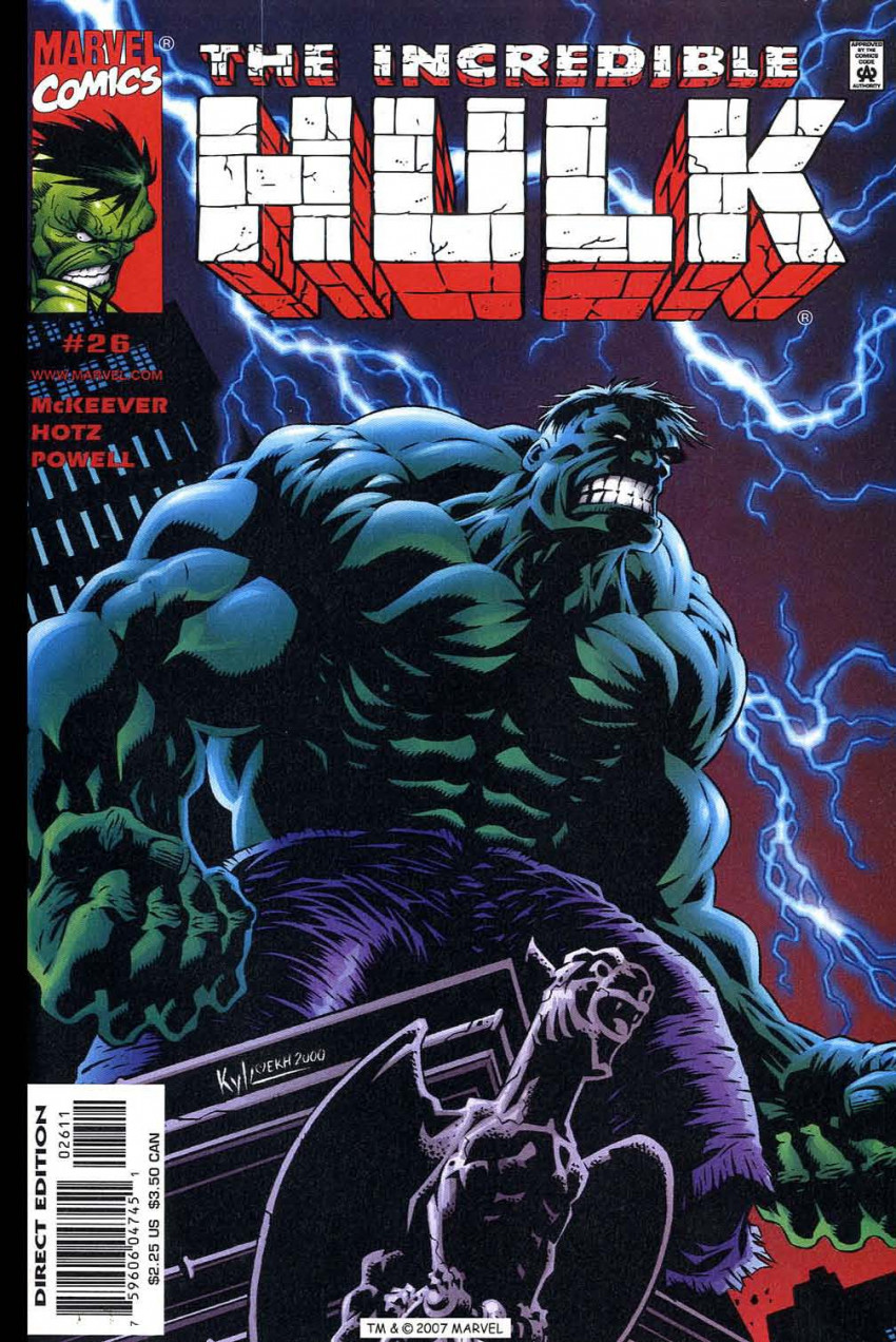 Couverture de Incredible Hulk (The) (Marvel comics - 2000) -26- Do You Know Where You're Going?