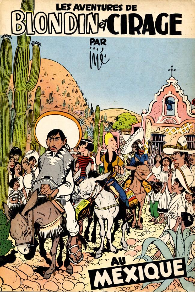 Couverture de Blondin et Cirage -5- Au Mexique