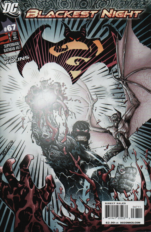 Couverture de Superman/Batman (2003) -67- Night Of The Cure, Part Two