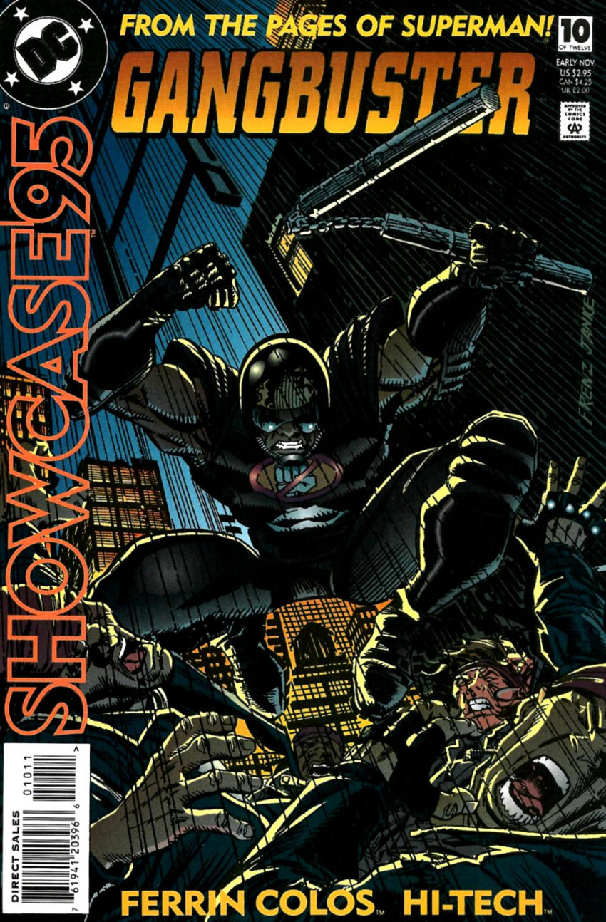 Couverture de Showcase '95 (DC comics - 1995) -10- Issue # 10