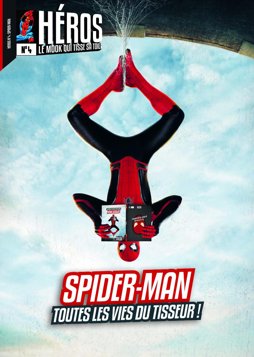 Couverture de (DOC) Héros, le mook -4- Spider-Man, toutes les vies du tisseur !