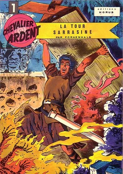 Couverture de Chevalier Ardent (Rijperman et autres) -1- La tour Sarrasine