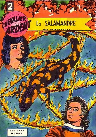 Couverture de Chevalier Ardent (Rijperman et autres) -2- La salamandre