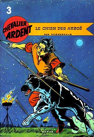 Couverture de Chevalier Ardent (Rijperman et autres) -3- Le chien des Arboë