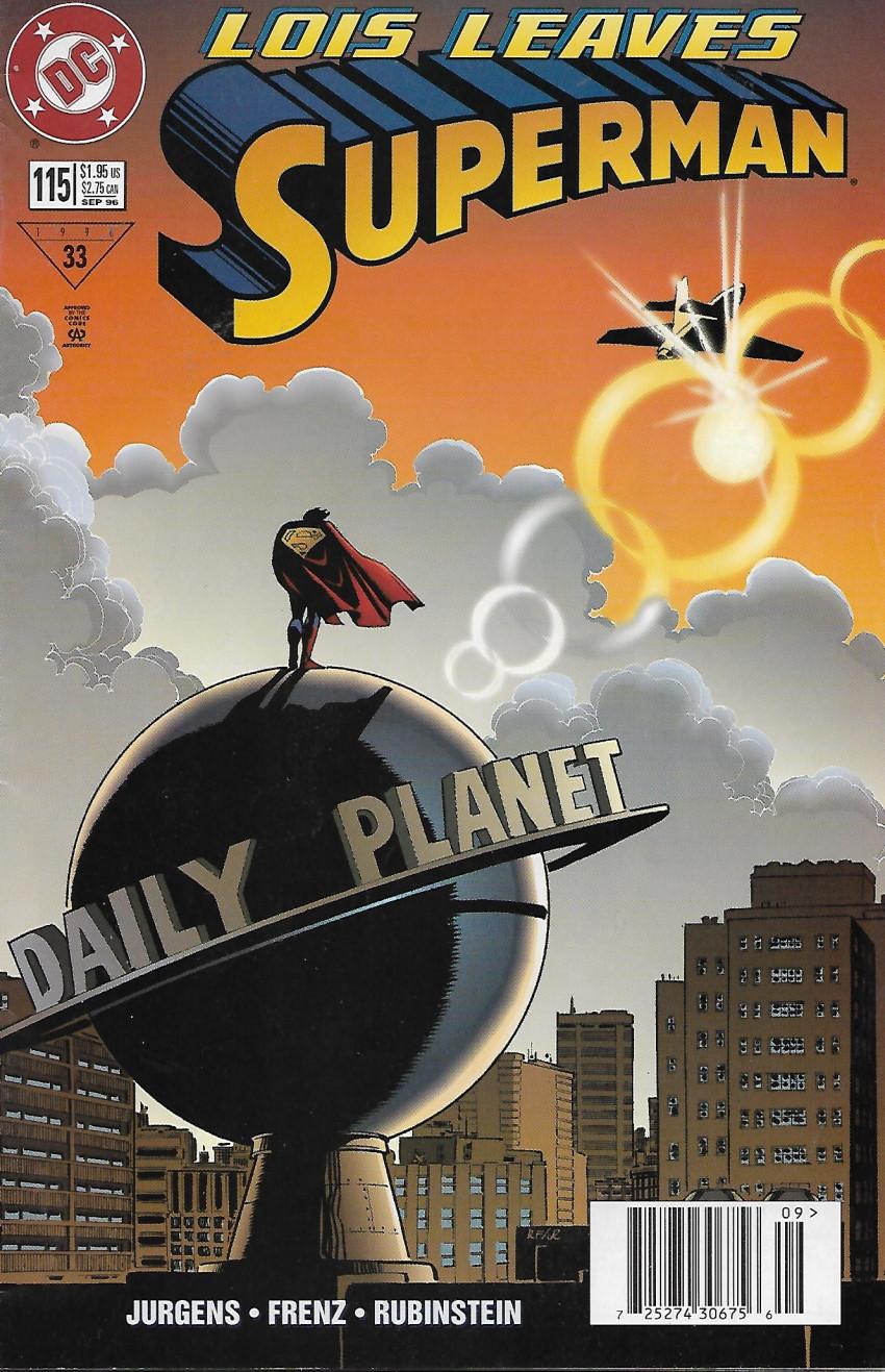Couverture de Superman Vol.2 (DC comics - 1987) -115- Love hurts
