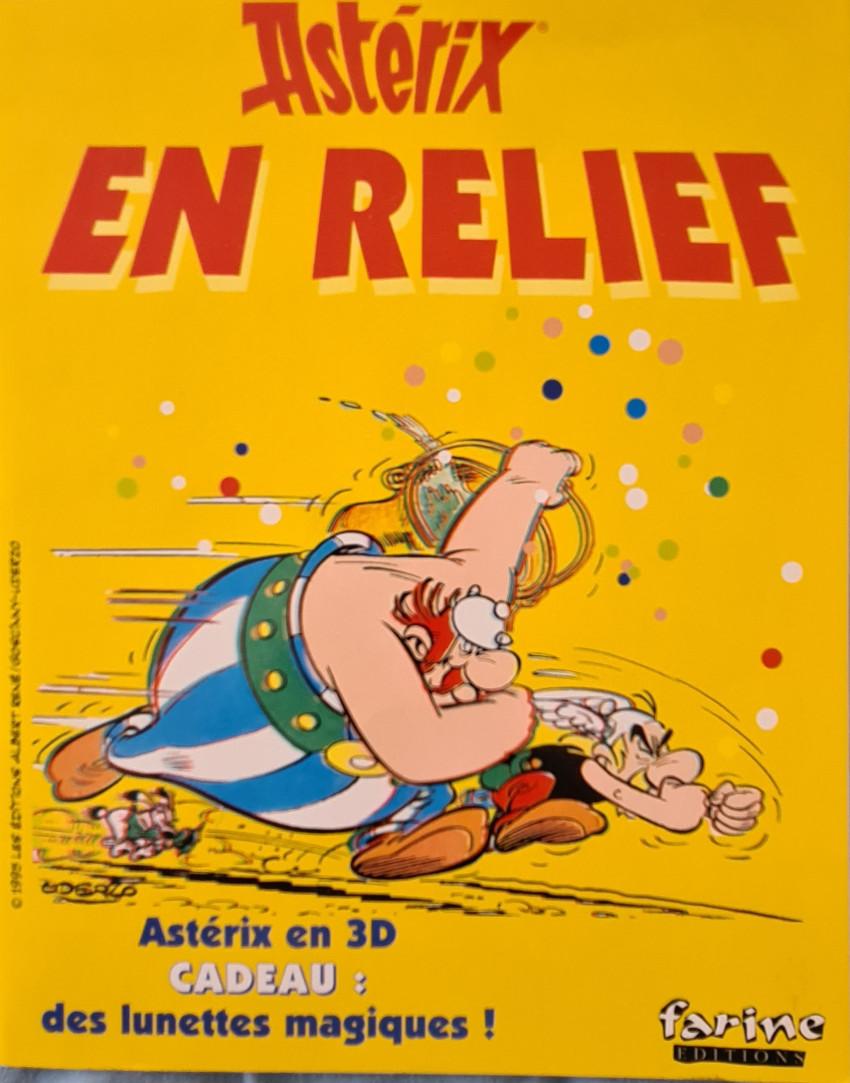 Couverture de Astérix (Autres) - Asterix en relief
