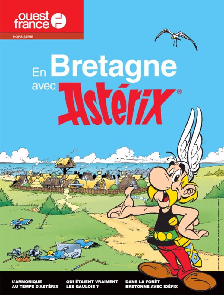 Couverture de Astérix (Autres) - En Bretagne avec Astérix