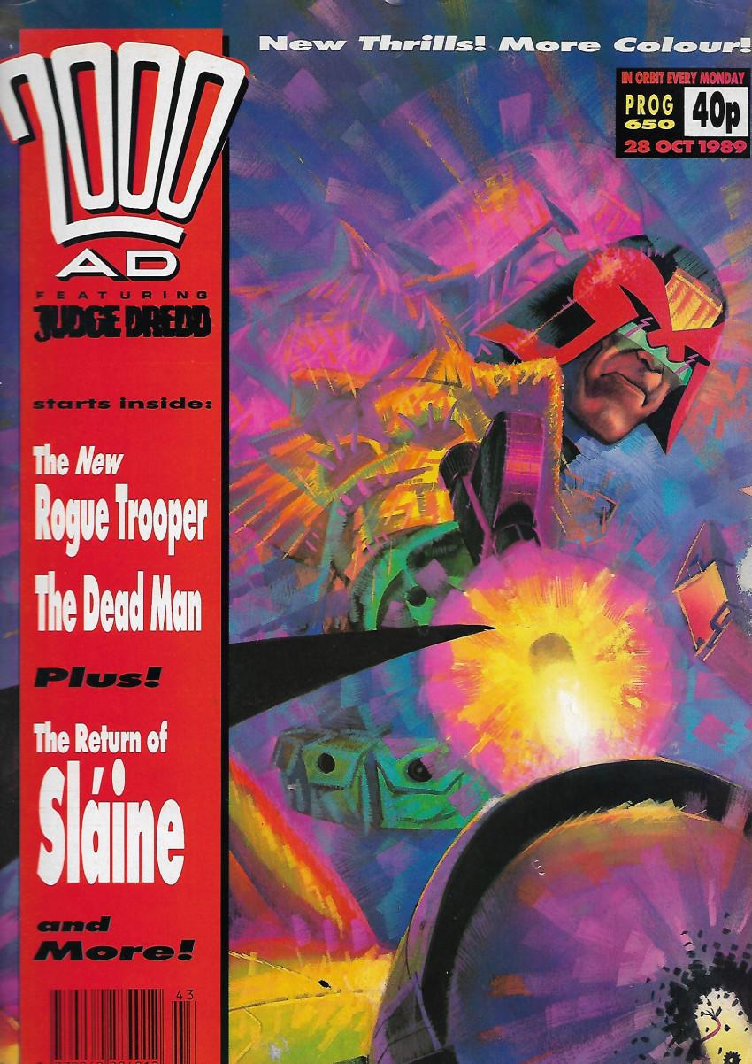 Couverture de 2000 AD (1977) -650- The Shooting match