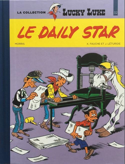 Couverture de Lucky Luke - La collection (Hachette 2018) -3253- Le daily star