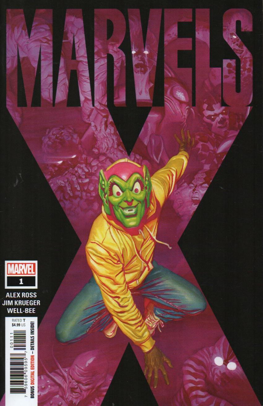 Couverture de Marvels X (Marvel Comics - 2020) -1- Marvels X #1