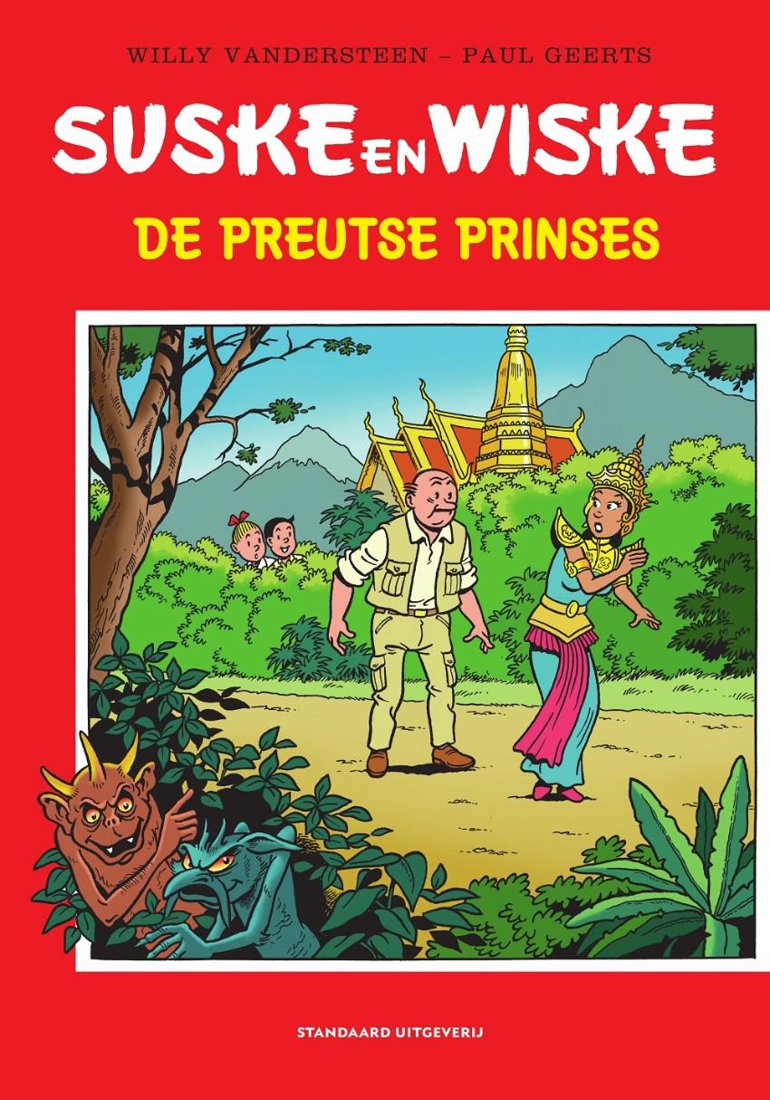 Couverture de Suske en Wiske - Hommage -4- De preutse prinses