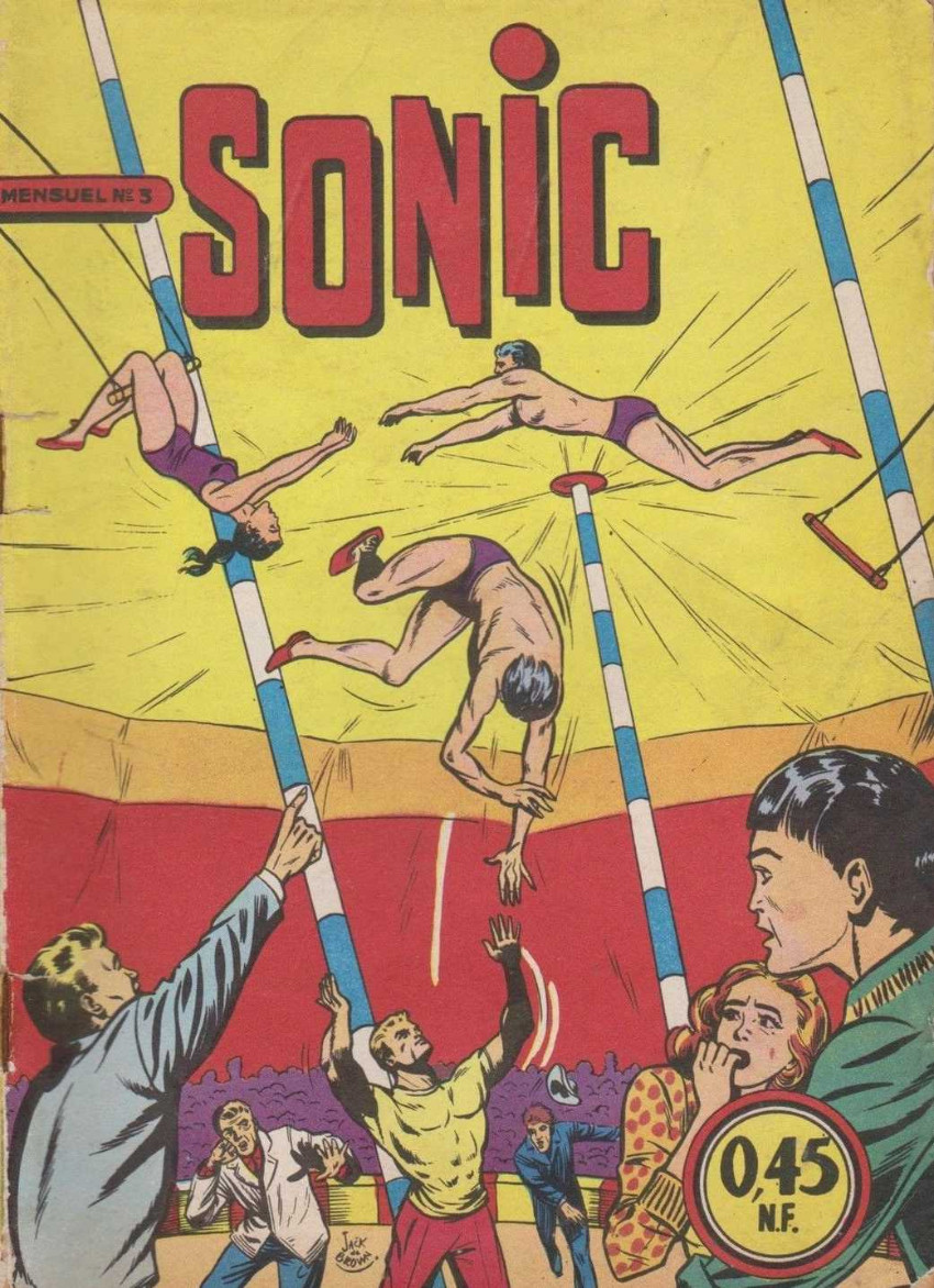 Couverture de Sonic (SEG) -3- L'enfant du cirque  - 3