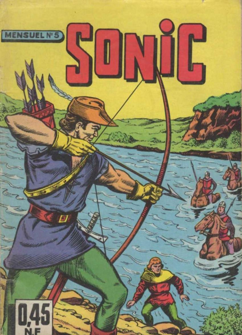 Couverture de Sonic (SEG) -5- La flèche noire de Robin des bois