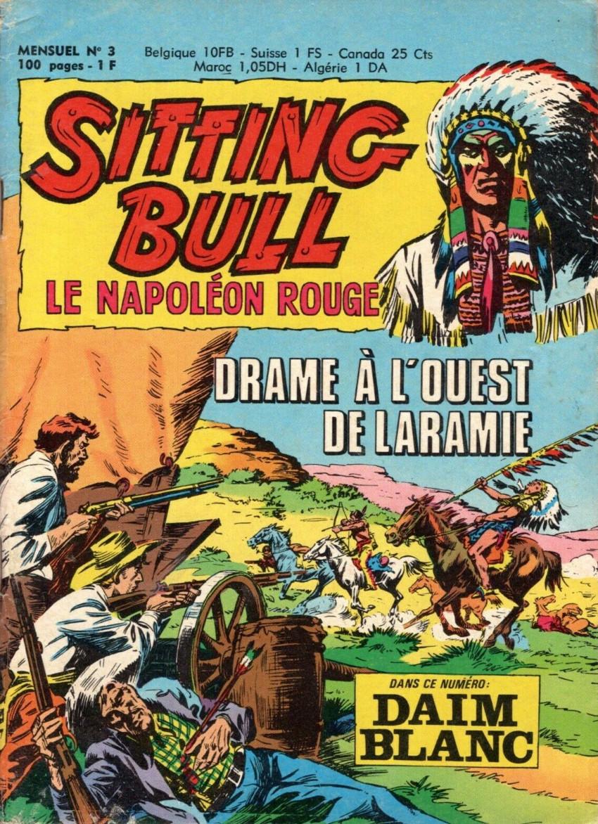 Couverture de Sitting Bull, le Napoléon rouge -3- Drame à l'Ouest de Laramie