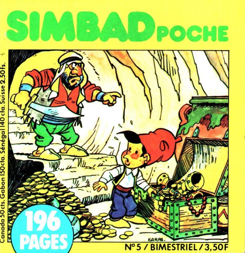 Couverture de Simbad (Poche) -5- Numéro 5