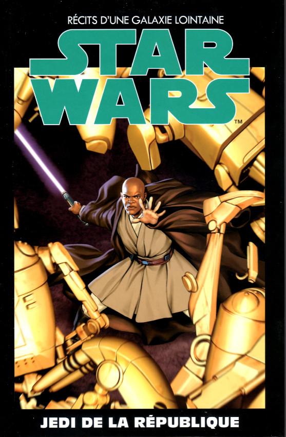 Couverture de Star Wars - Récits d'une galaxie lointaine -34- Jedi de la République