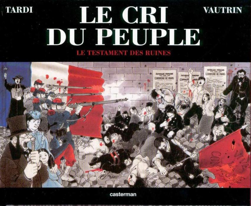 Couverture de Le cri du peuple -4- Le testament des ruines