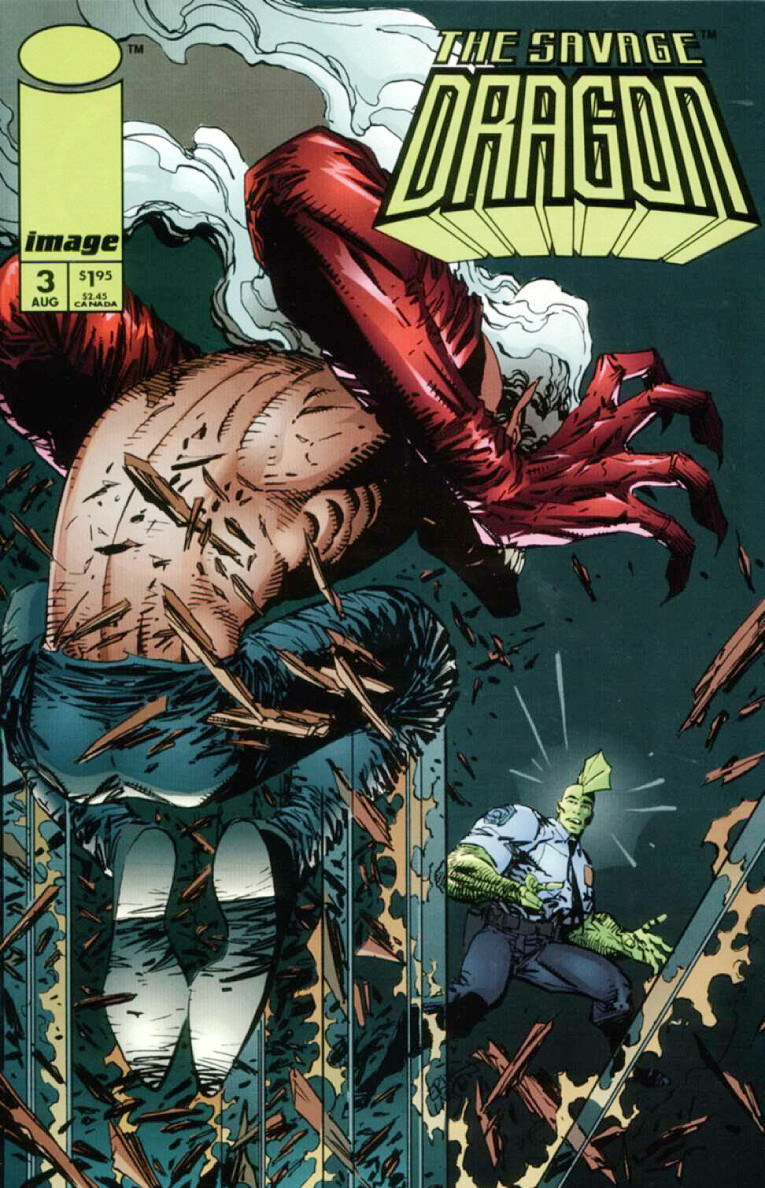 Couverture de Savage Dragon Vol.2 (The) (Image comics - 1993) -3- Issue 3