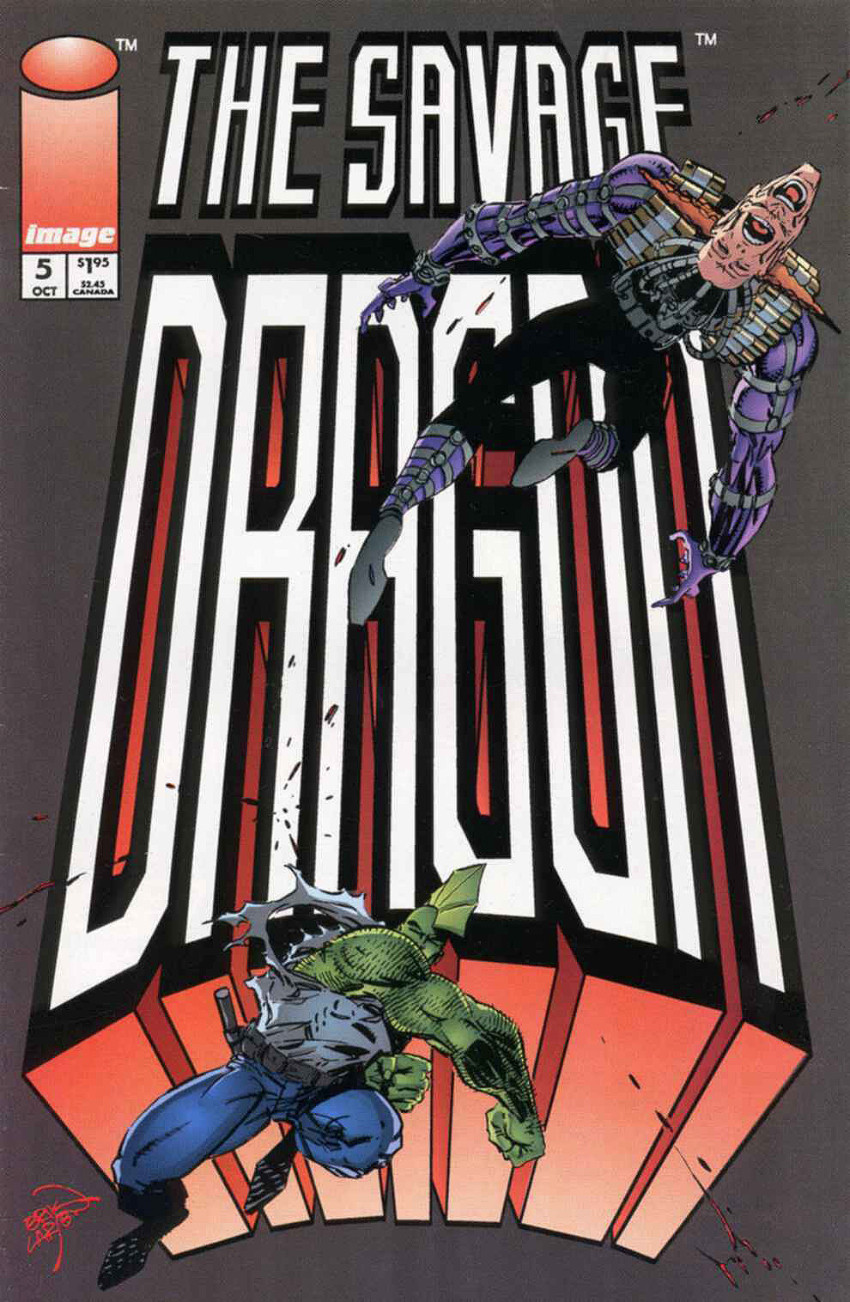 Couverture de Savage Dragon Vol.2 (The) (Image comics - 1993) -5- Issue 5