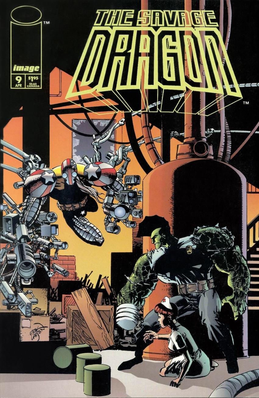 Couverture de Savage Dragon Vol.2 (The) (Image comics - 1993) -9- Sans titre