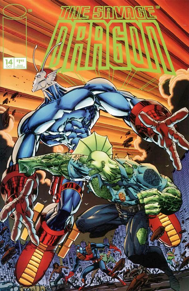 Couverture de Savage Dragon Vol.2 (The) (Image comics - 1993) -14- Possessed - Part 1 of 3