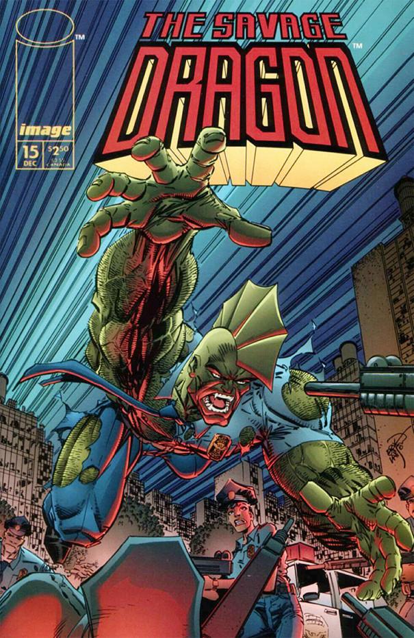 Couverture de Savage Dragon Vol.2 (The) (Image comics - 1993) -15- Possessed - Part 2 of 3