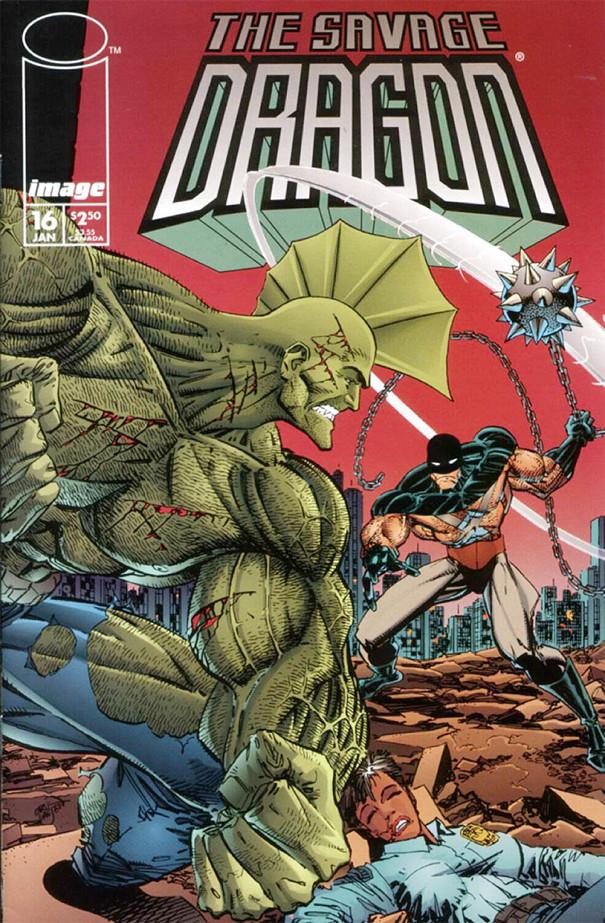 Couverture de Savage Dragon Vol.2 (The) (Image comics - 1993) -16- Possessed - Part 3 of 3