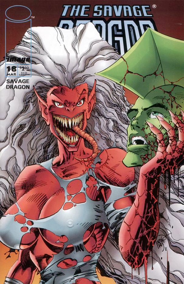 Couverture de Savage Dragon Vol.2 (The) (Image comics - 1993) -18- Issue 18