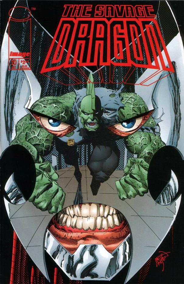 Couverture de Savage Dragon Vol.2 (The) (Image comics - 1993) -20- Issue 20