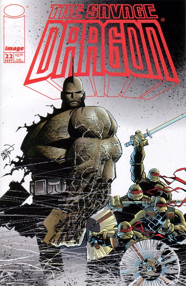 Couverture de Savage Dragon Vol.2 (The) (Image comics - 1993) -22- Issue 22