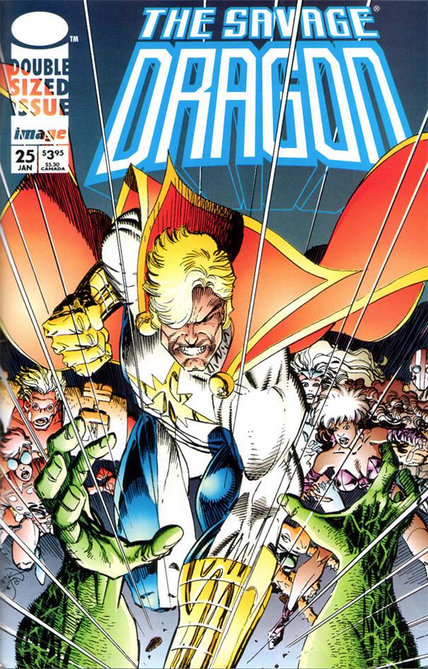 Couverture de Savage Dragon Vol.2 (The) (Image comics - 1993) -25- Gang War - Part 2 of 3
