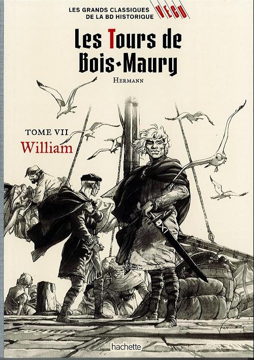 Couverture de Les grands Classiques de la BD Historique Vécu - La Collection -14- Les Tours de Bois-Maury - Tome VII : William