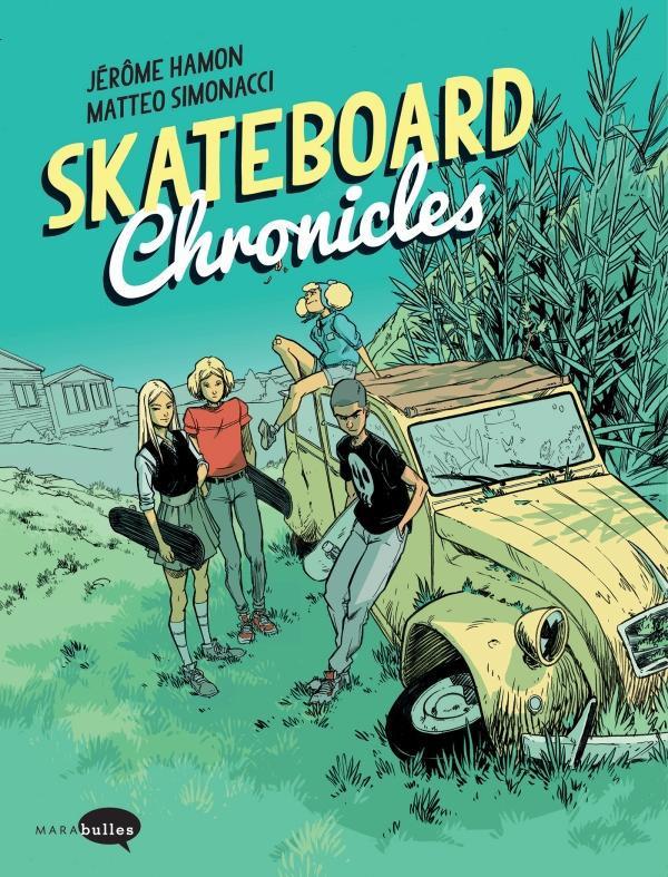 Couverture de Skateboard Chronicles