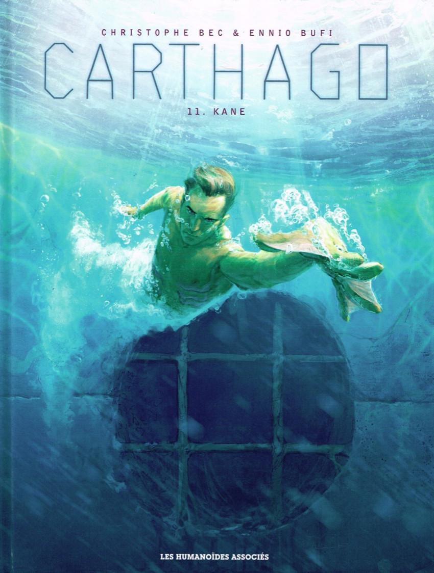 Couverture de Carthago -11- Kane