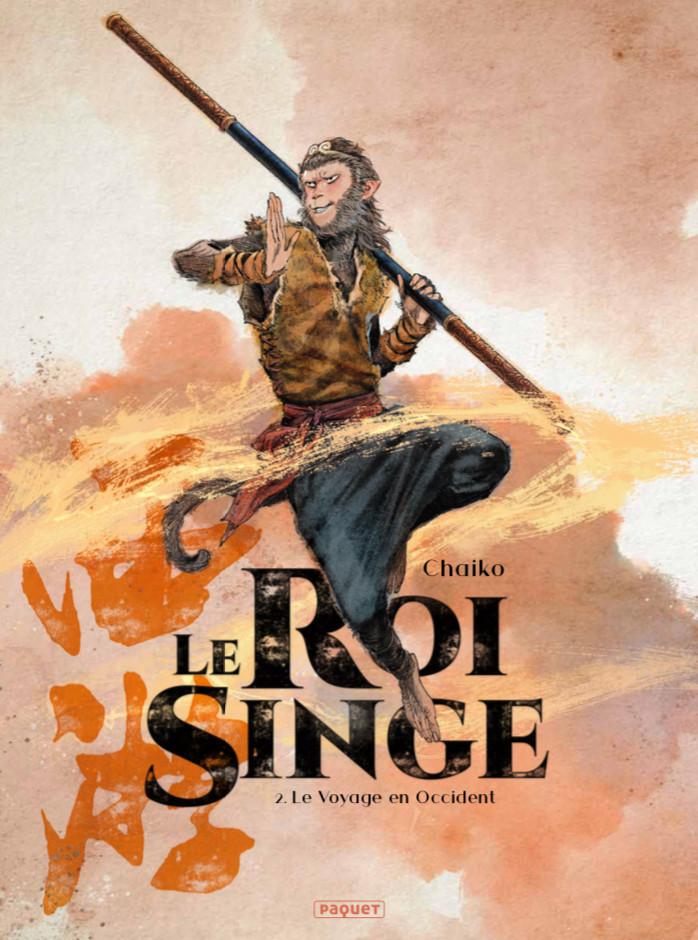 Couverture de Le roi Singe -2- Le Voyage en occident