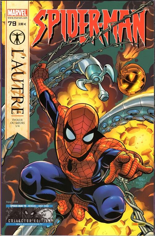 Couverture de Spider-Man (Marvel France 2e série - 2000) -79Col- L'autre (1/4)