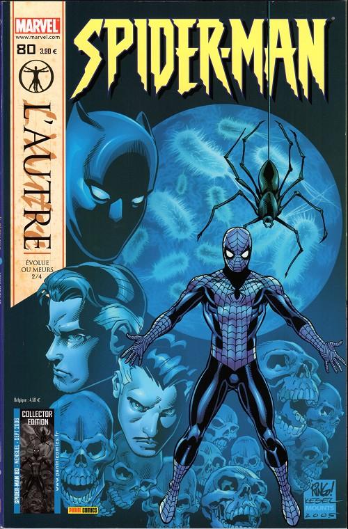 Couverture de Spider-Man (Marvel France 2e série - 2000) -80Col- L'autre (2/4)