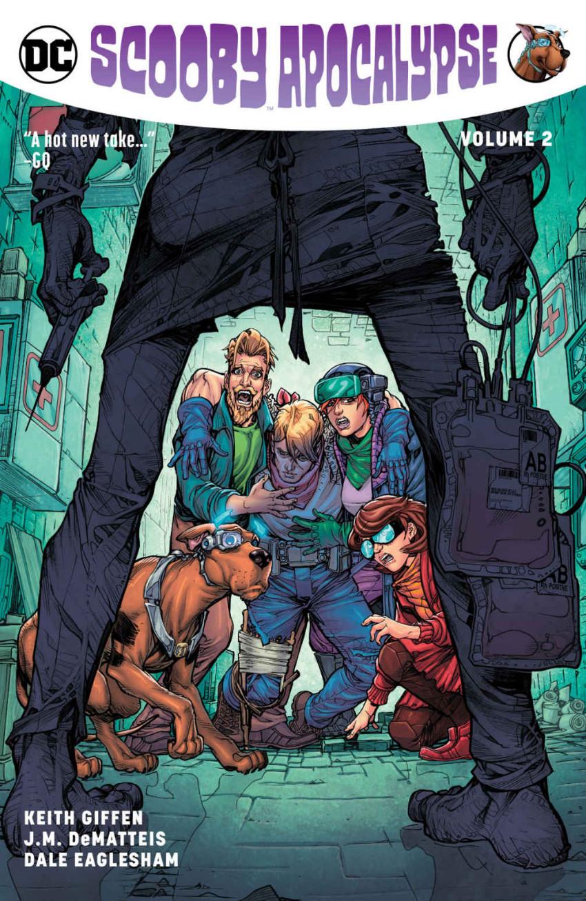 Couverture de Scooby Apocalypse (2016) -INT02- Scooby Apocalypse Volume 2