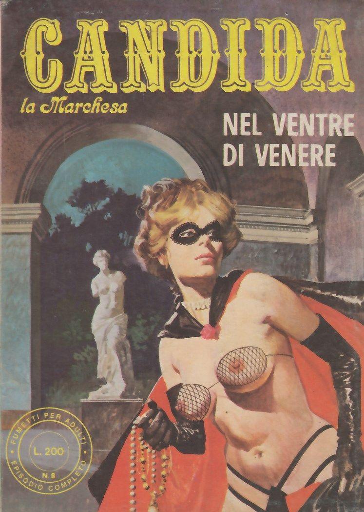 Couverture de Candida la Marchesa (première série, en italien) -8- Nel ventre di Venere