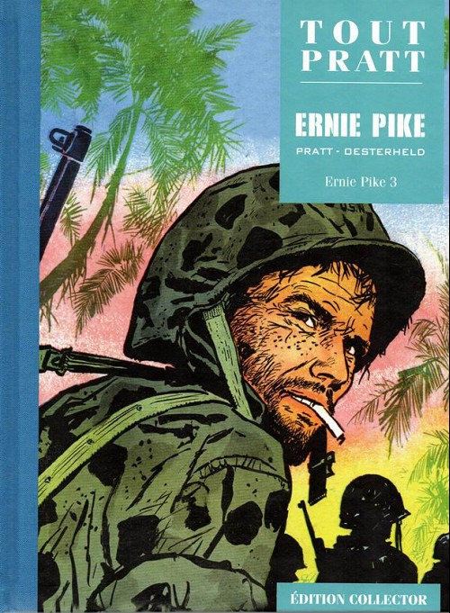 Couverture de Tout Pratt (collection Altaya) -36- Ernie Pike 3