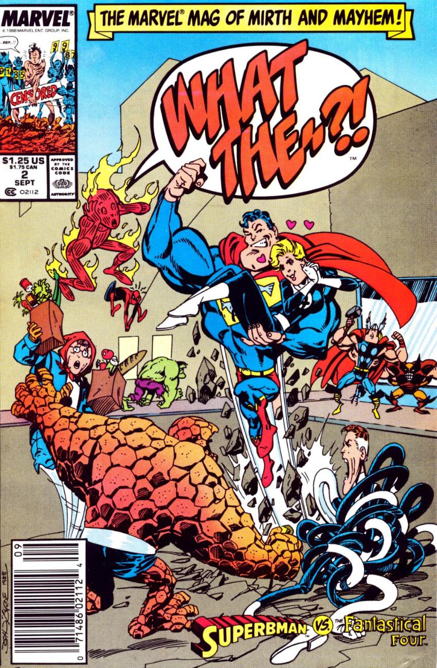 Couverture de What the..?! (Marvel comics - 1988) -2- Superbman vs. the Fantastical Four