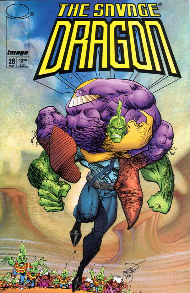 Couverture de Savage Dragon Vol.2 (The) (Image comics - 1993) -28- Issue #28