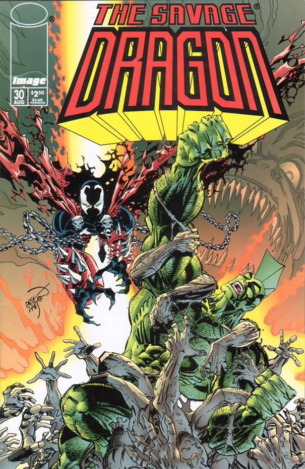 Couverture de Savage Dragon Vol.2 (The) (Image comics - 1993) -30- Issue #30
