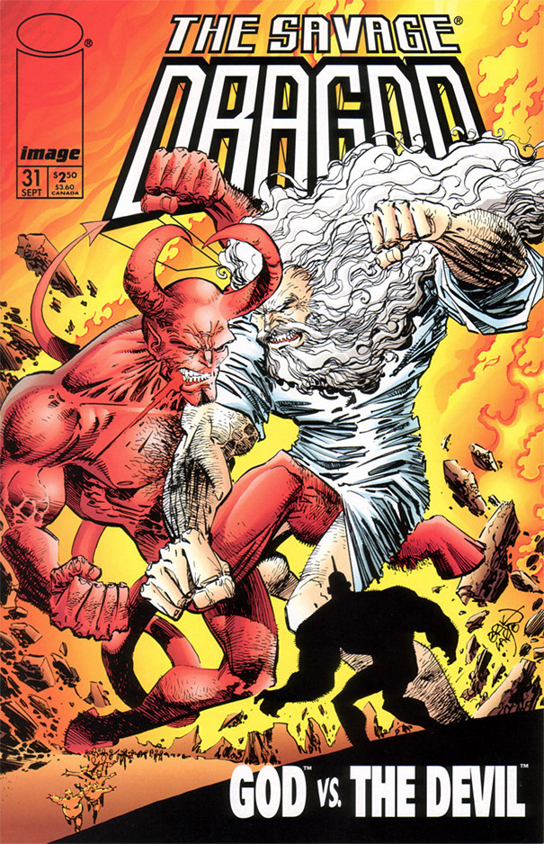 Couverture de Savage Dragon Vol.2 (The) (Image comics - 1993) -31- God vs The Devil