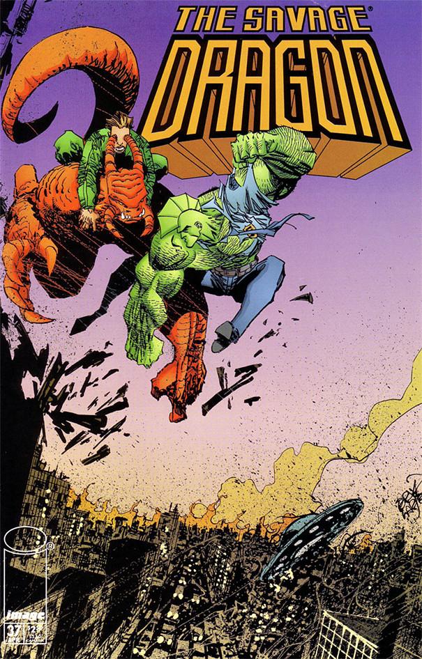 Couverture de Savage Dragon Vol.2 (The) (Image comics - 1993) -37- Issue #37