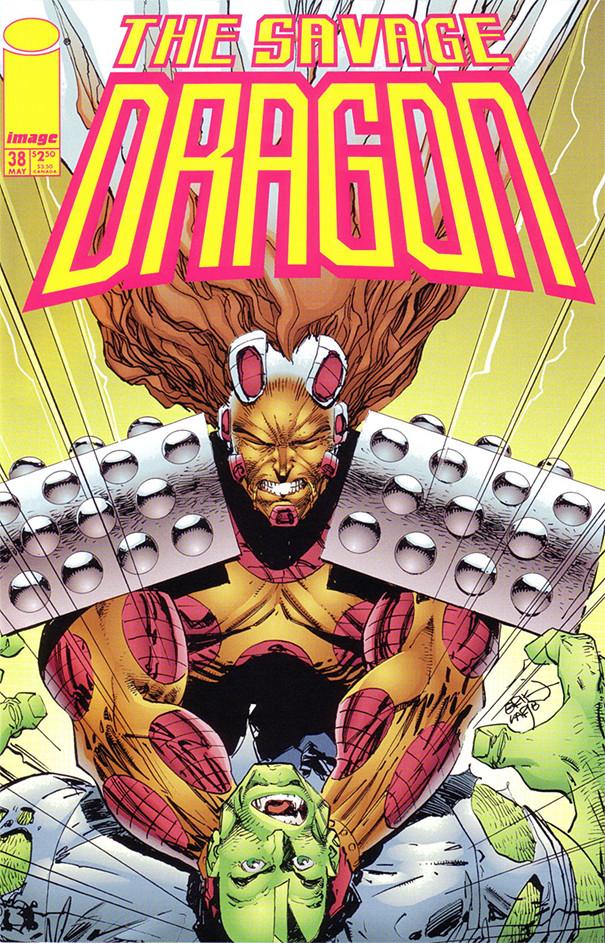 Couverture de Savage Dragon Vol.2 (The) (Image comics - 1993) -38- Issue #38