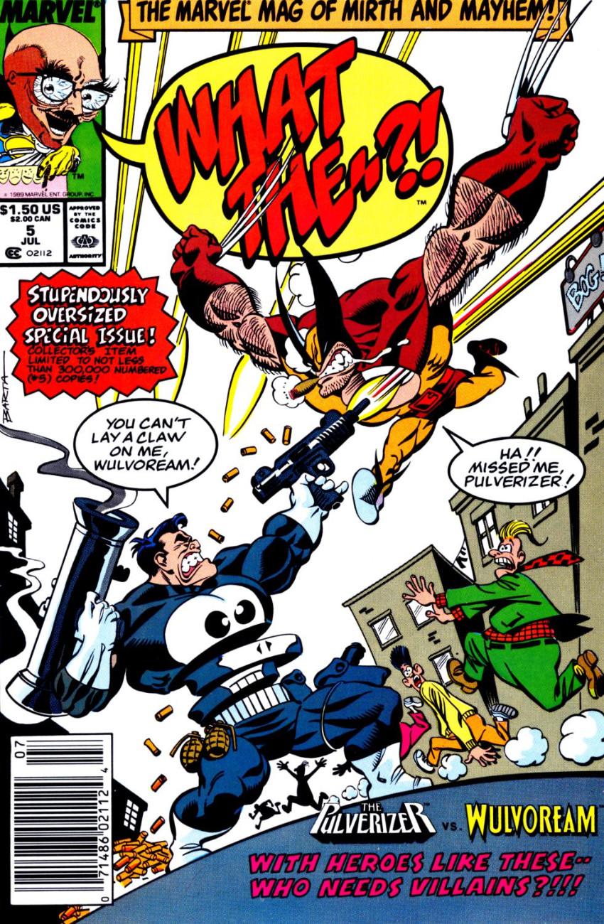 Couverture de What the..?! (Marvel comics - 1988) -5- Issue # 5
